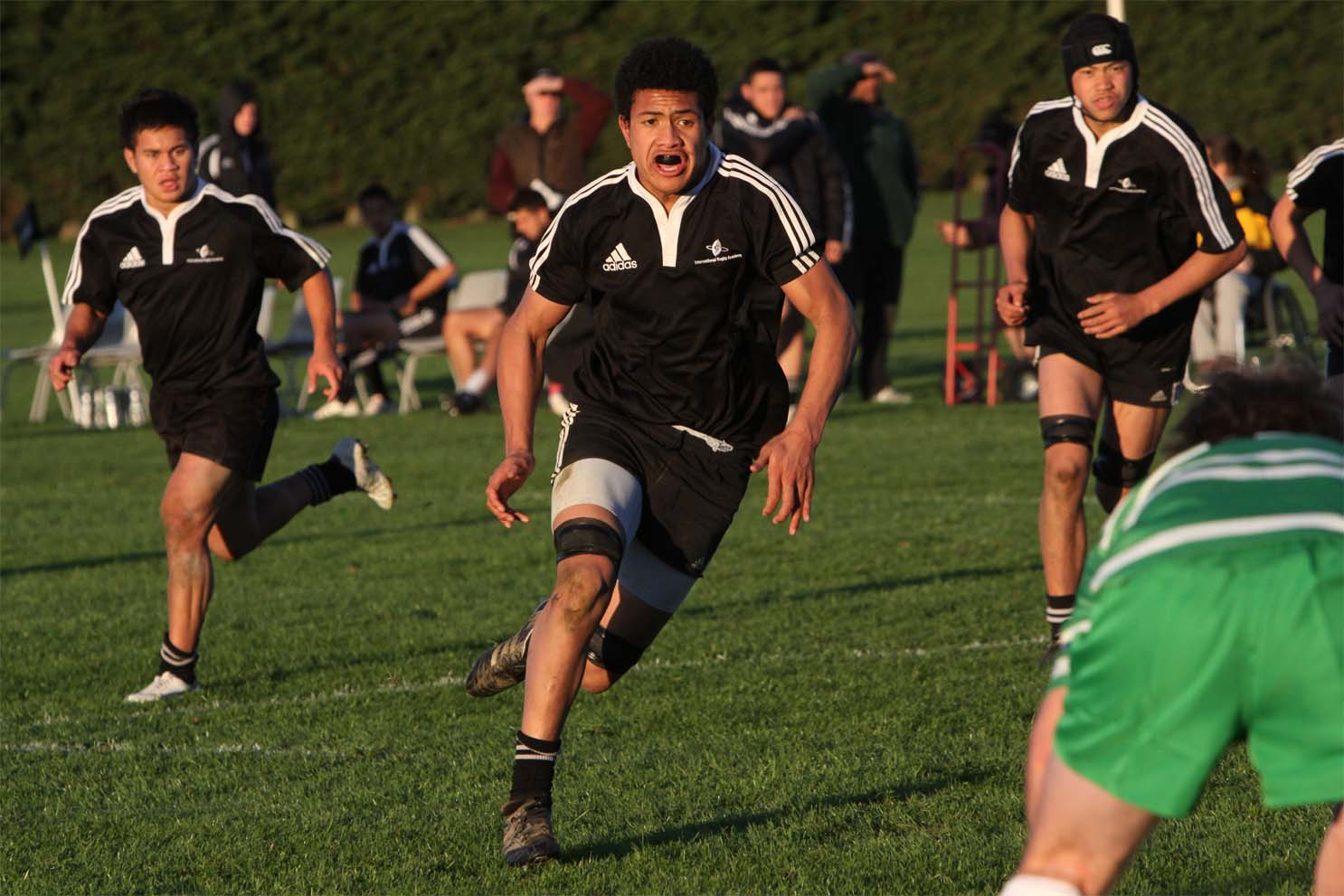 Ardie Savea was outstanding when he attended the Advanced Players Course in 2009