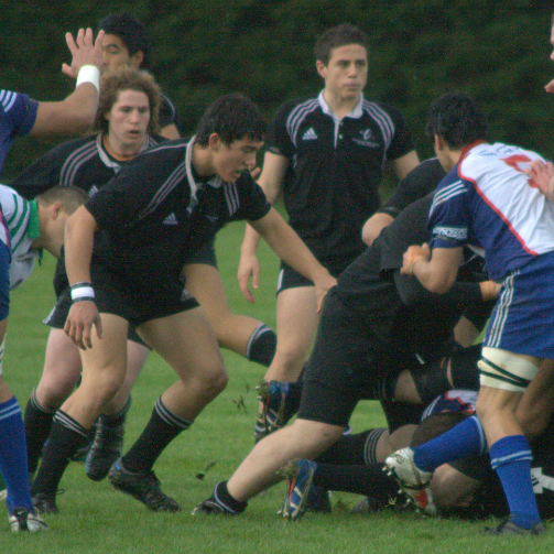 Codie Taylor and TJ Perenara (middle) attended the Advanced Players Course in 2008. Seven years later in 2015, they played together once again – this time, for the All Blacks in the Rugby World Cup