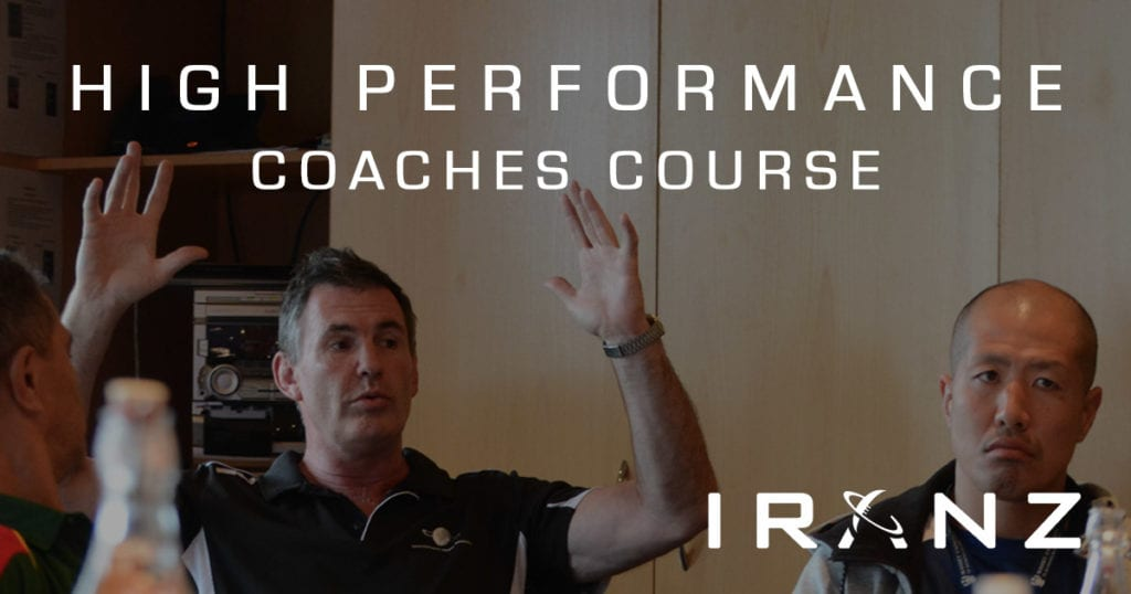 IRANZ High Performance Rugby Coaches Course