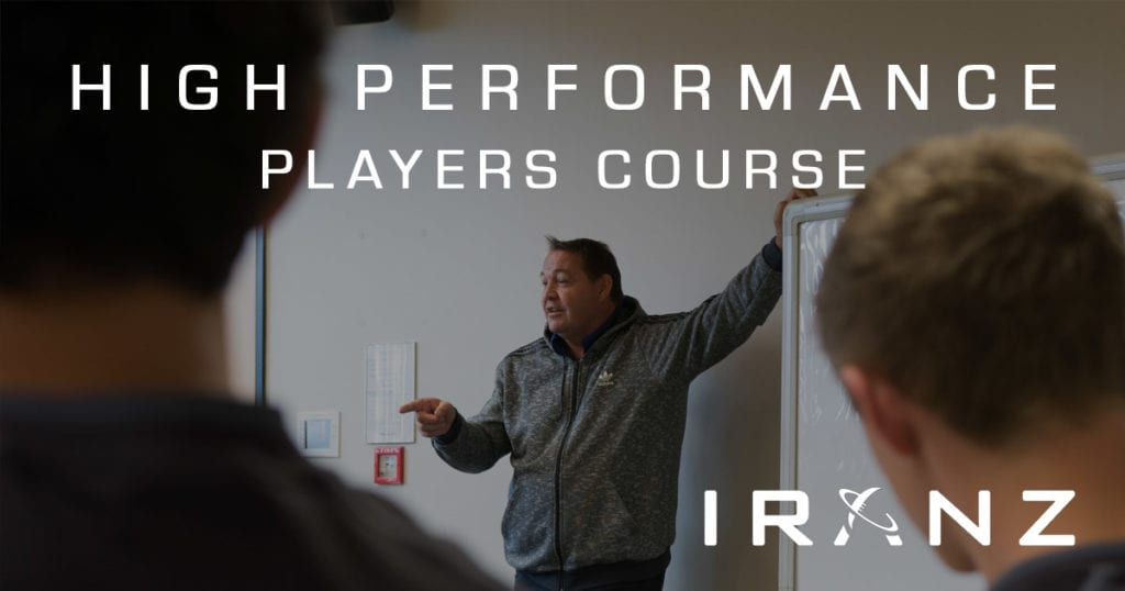 IRANZ High Performance Rugby Players Course