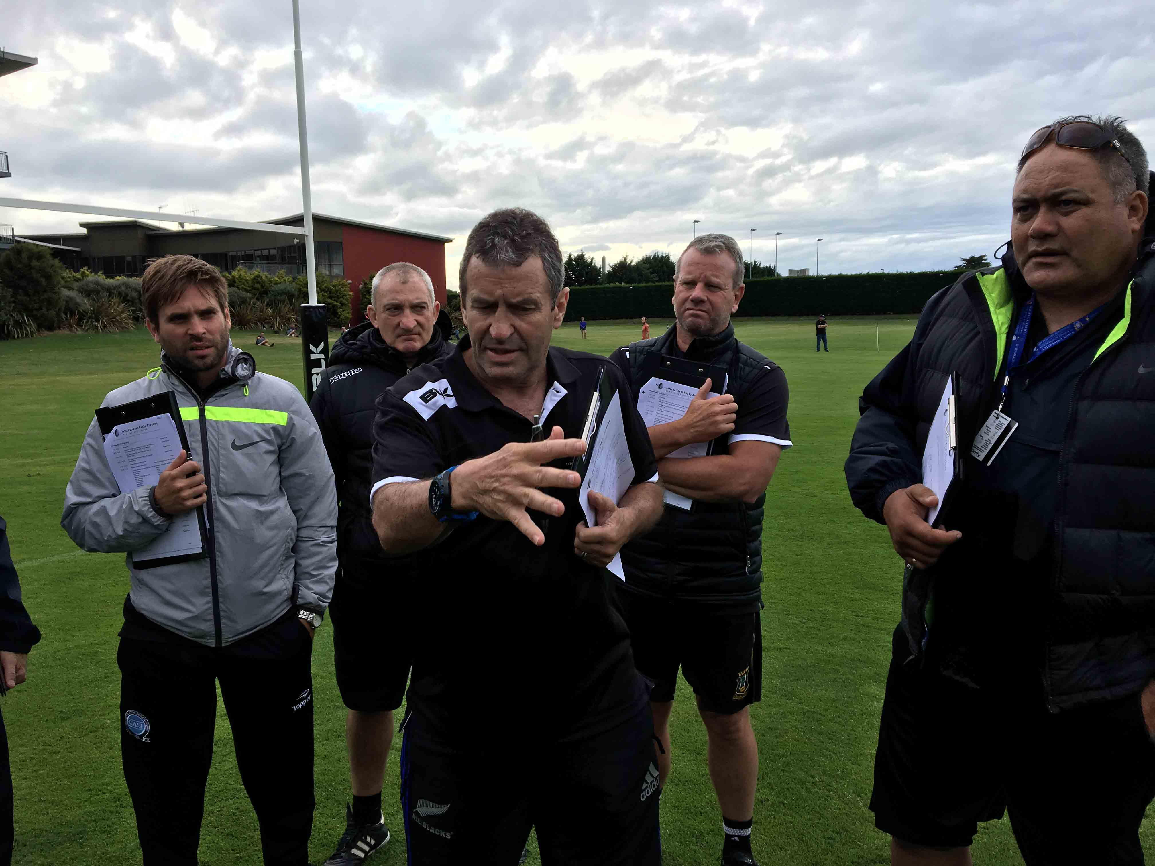 IRANZ Staff Coach Wayne Smith on the High Performance Coaches Course