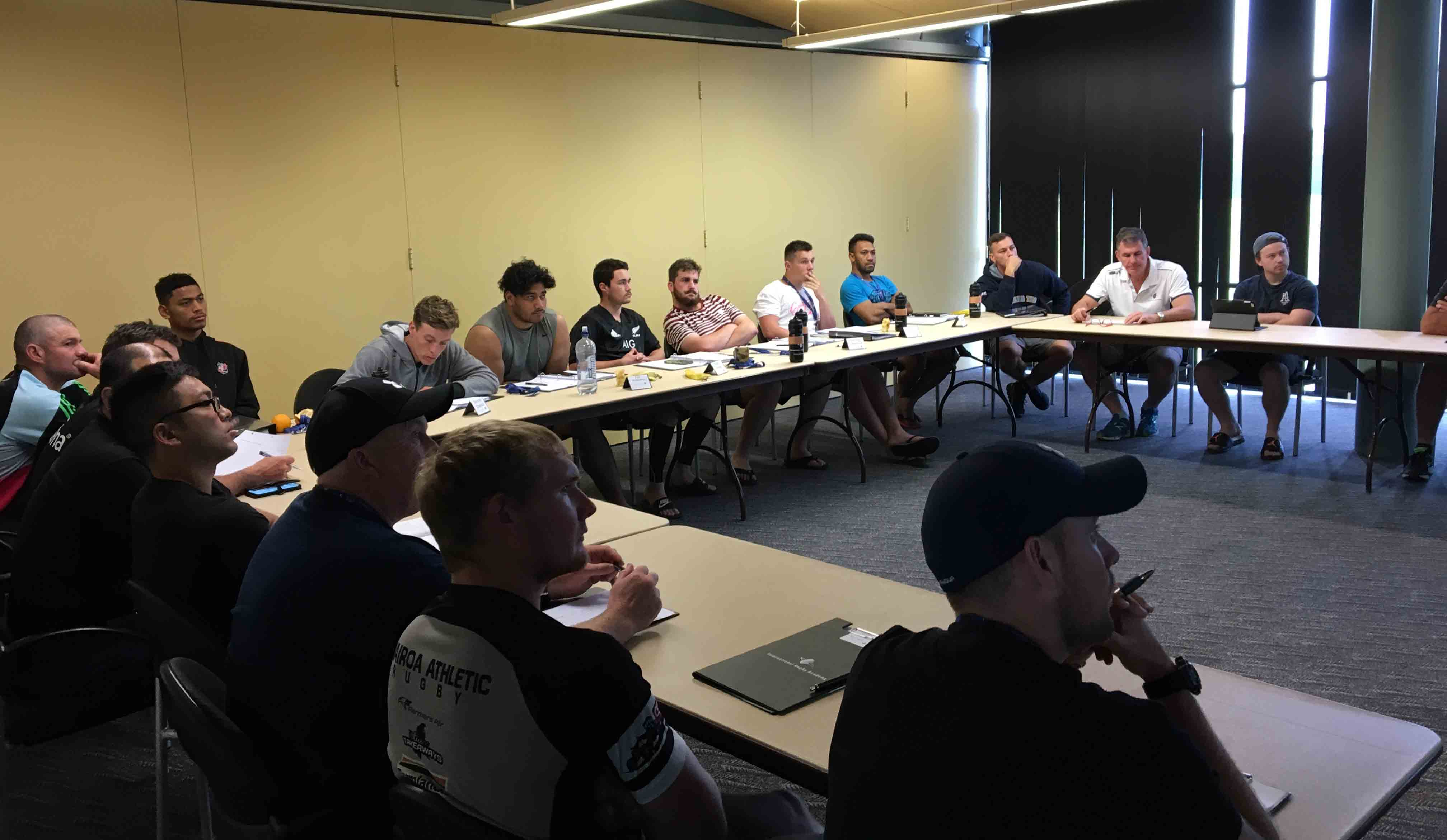 Emerging Players Course classroom module