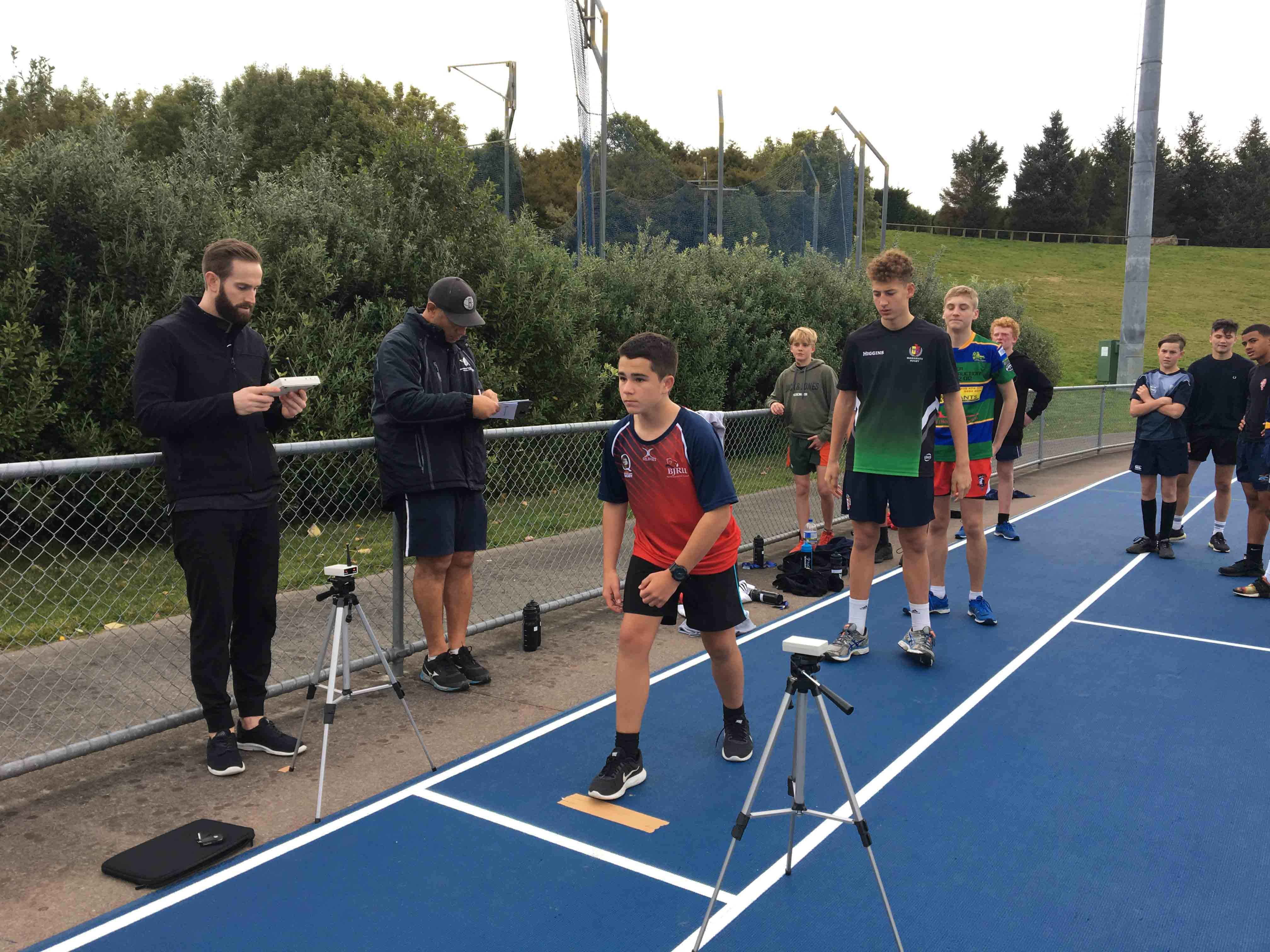 Intermediate Players Course Fitness Testing